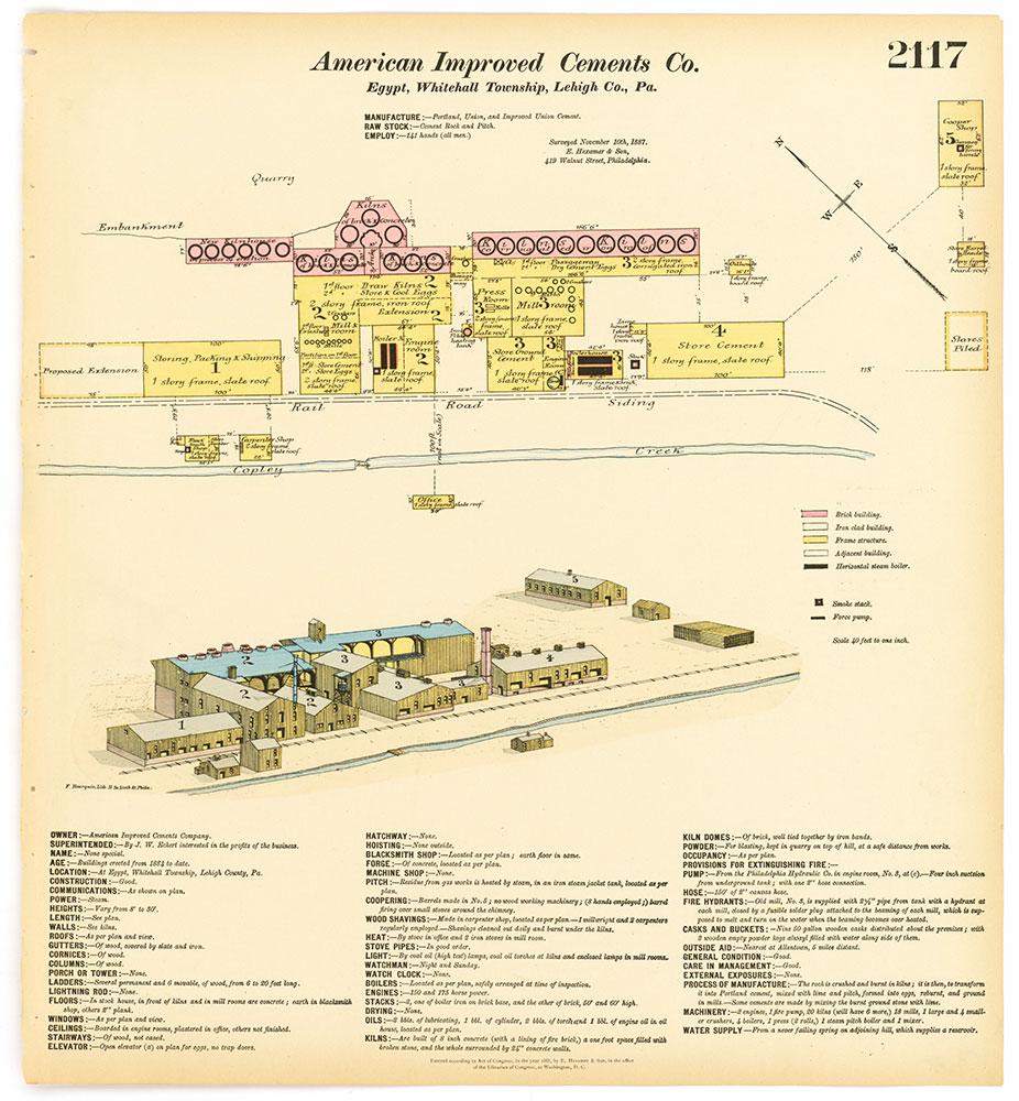 Hexamer General Surveys, Volume 22, Plate 2117