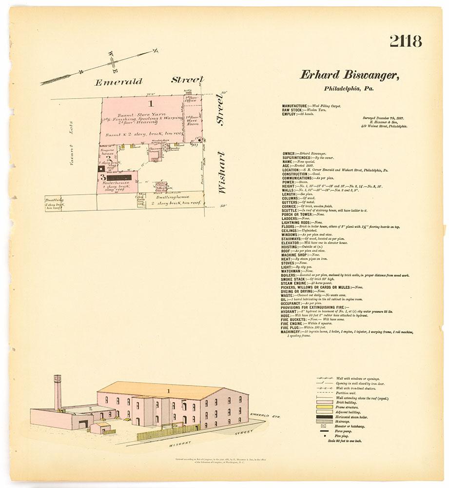 Hexamer General Surveys, Volume 22, Plate 2118