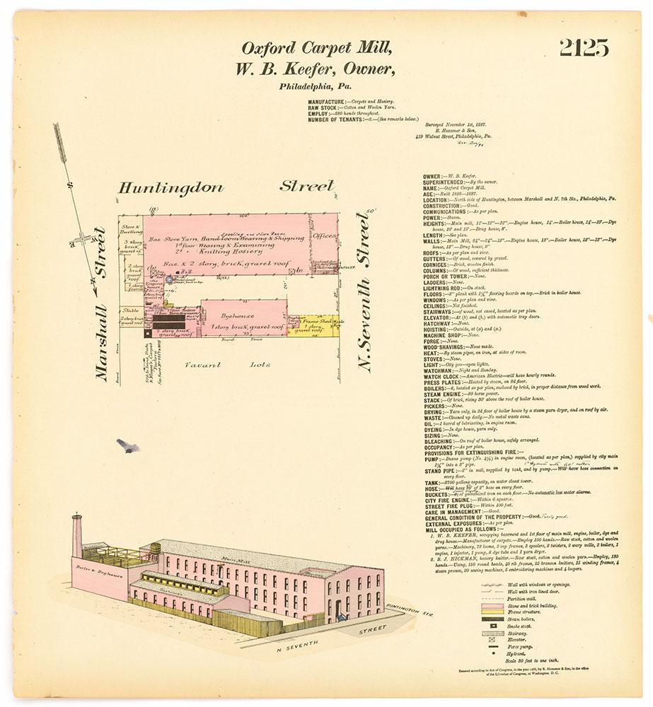 Hexamer General Surveys, Volume 22, Plate 2125