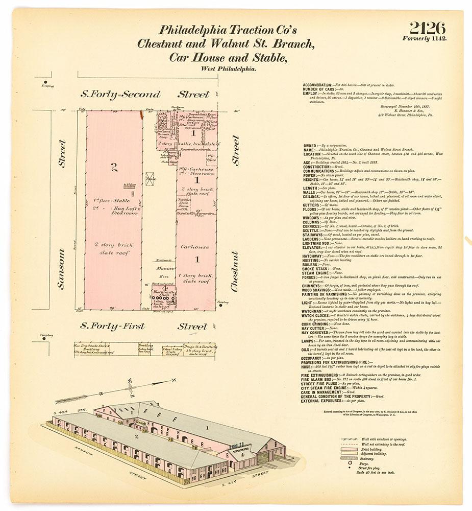 Hexamer General Surveys, Volume 22, Plate 2126