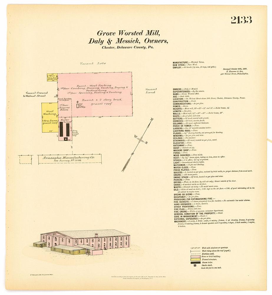 Hexamer General Surveys, Volume 22, Plate 2133