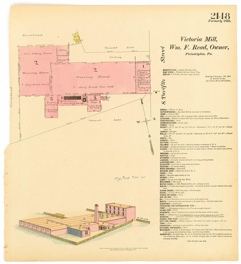 Hexamer General Surveys, Volume 22, Plate 2148