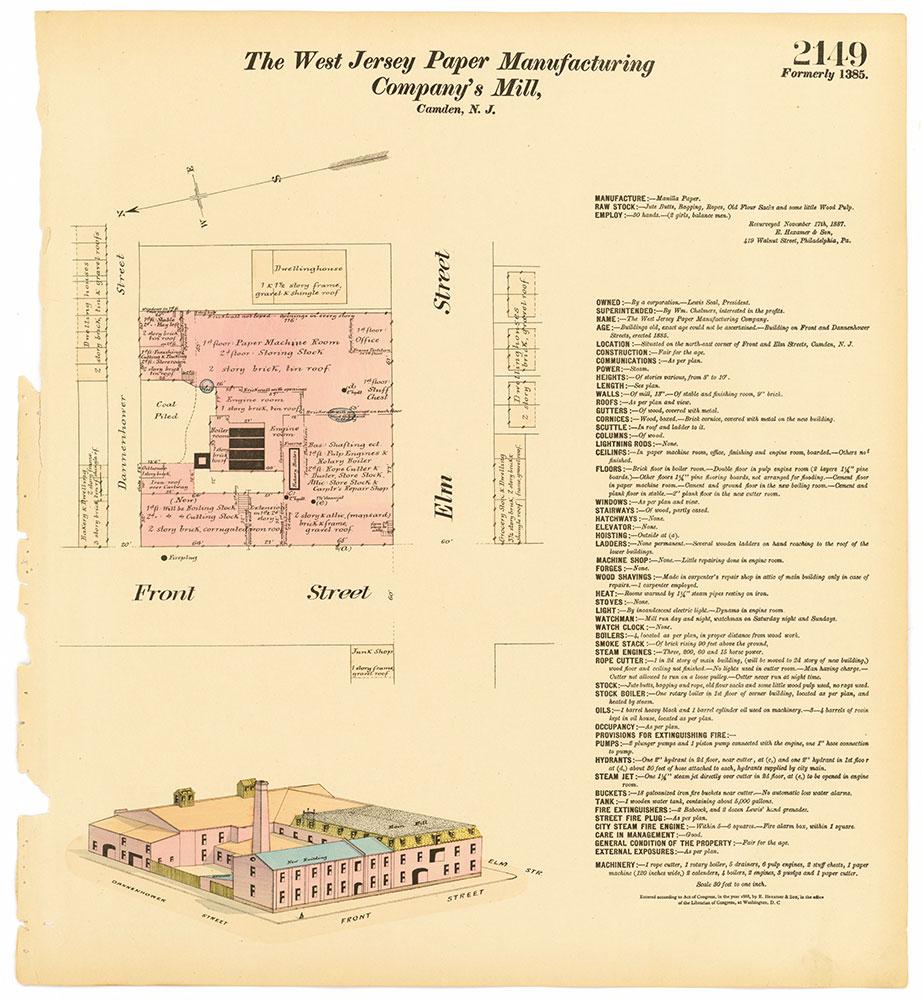 Hexamer General Surveys, Volume 22, Plate 2149