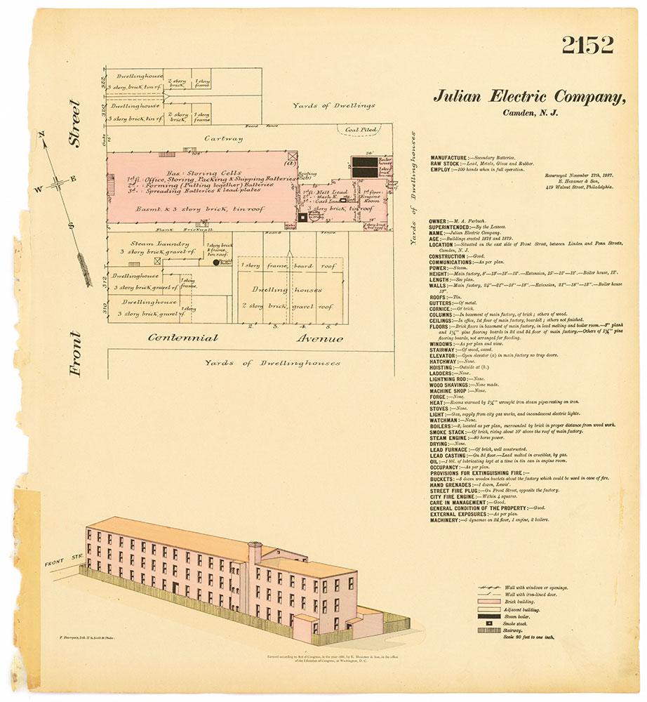 Hexamer General Surveys, Volume 22, Plate 2152