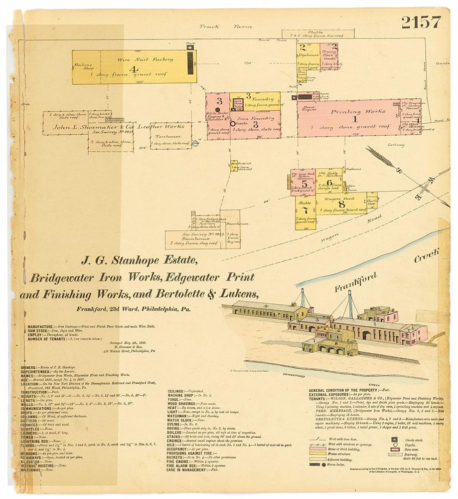 Hexamer General Surveys, Volume 23, Plate 2157