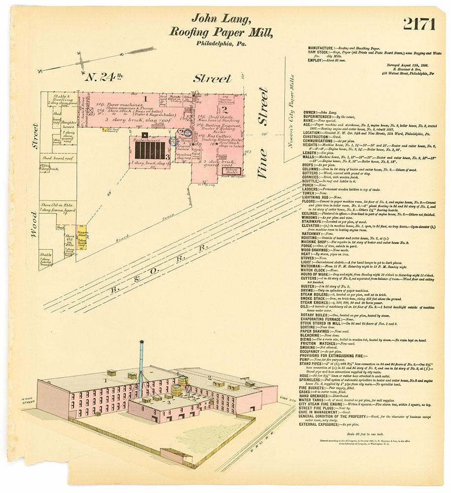 Hexamer General Surveys, Volume 23, Plate 2171