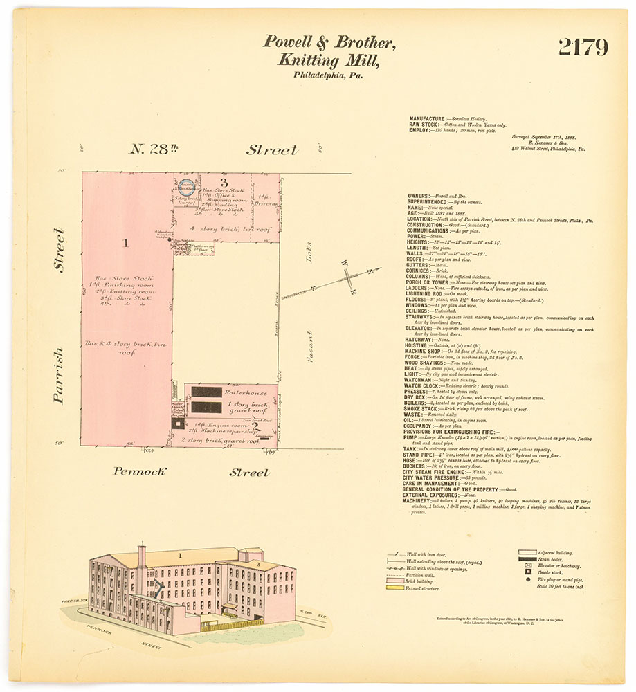 Hexamer General Surveys, Volume 23, Plate 2179