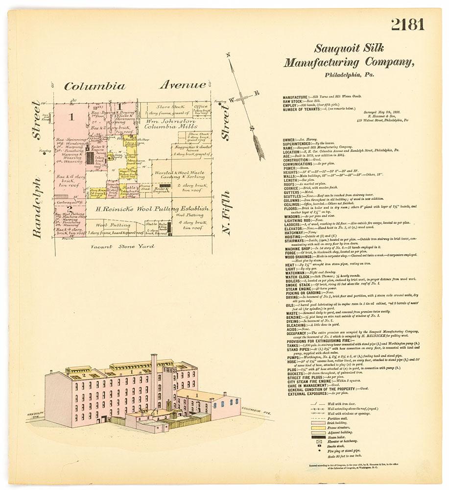 Hexamer General Surveys, Volume 23, Plate 2181