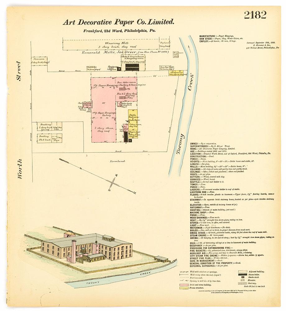 Hexamer General Surveys, Volume 23, Plate 2182
