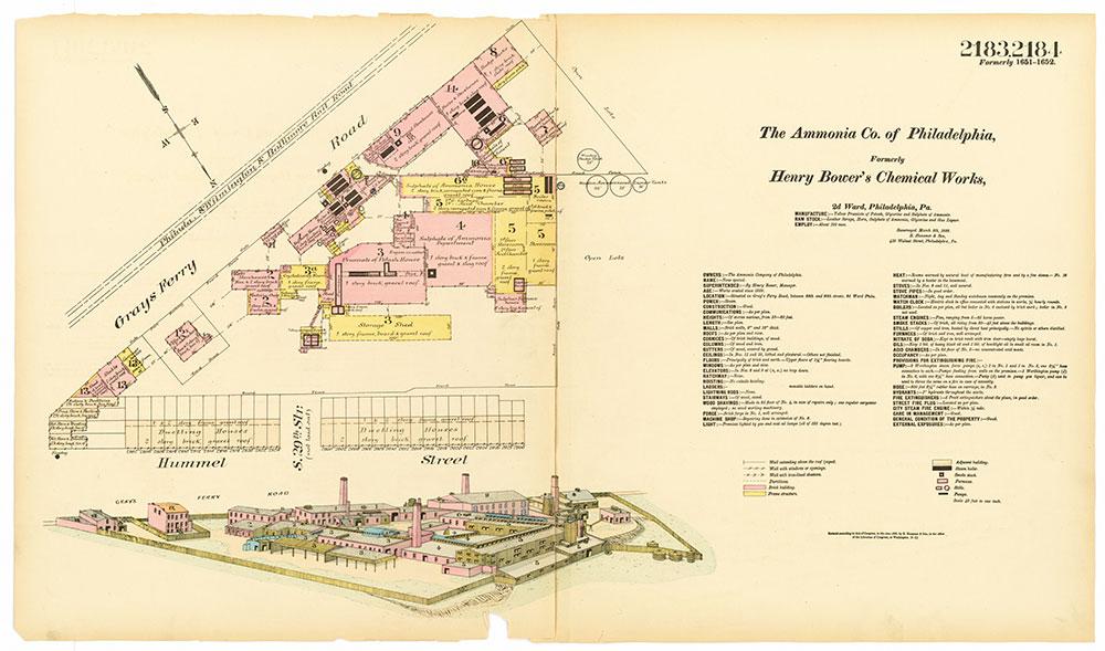 Hexamer General Surveys, Volume 23, Plates 2183-2184