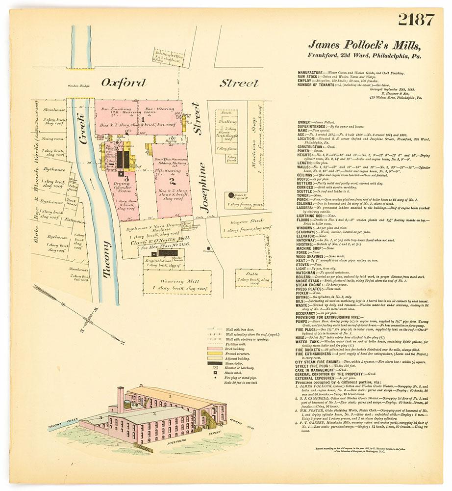 Hexamer General Surveys, Volume 23, Plate 2187