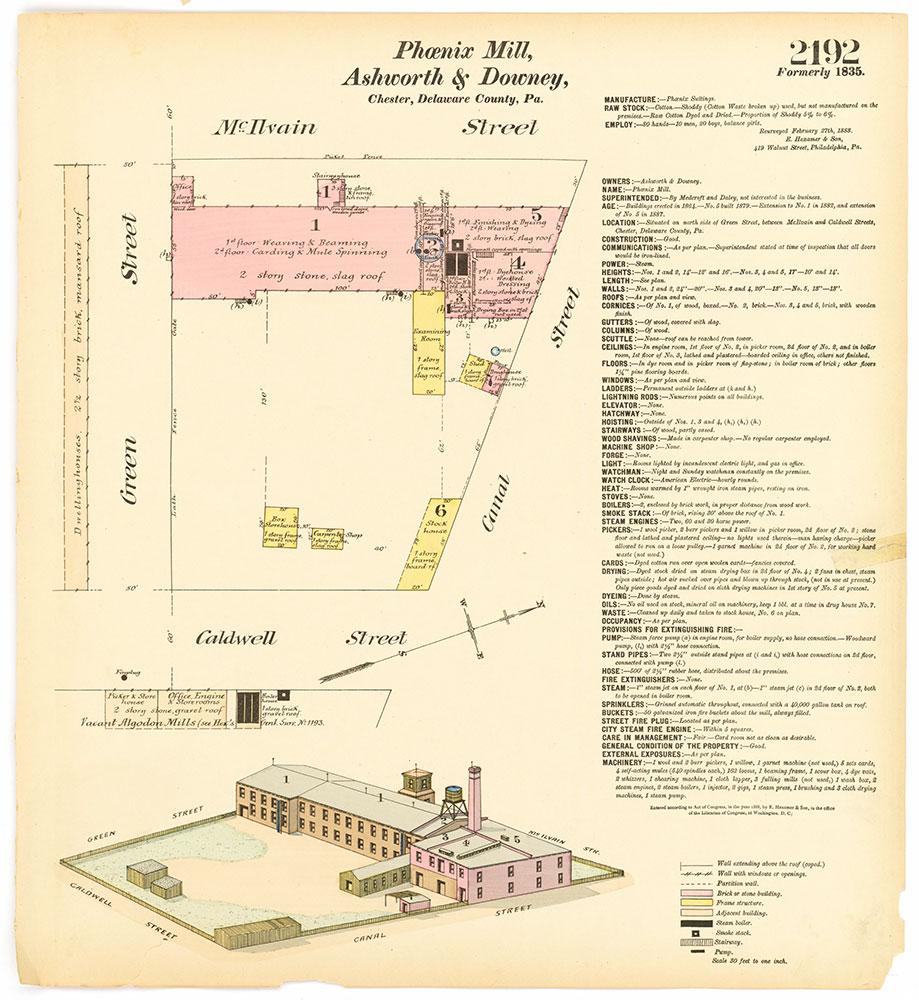 Hexamer General Surveys, Volume 23, Plate 2192