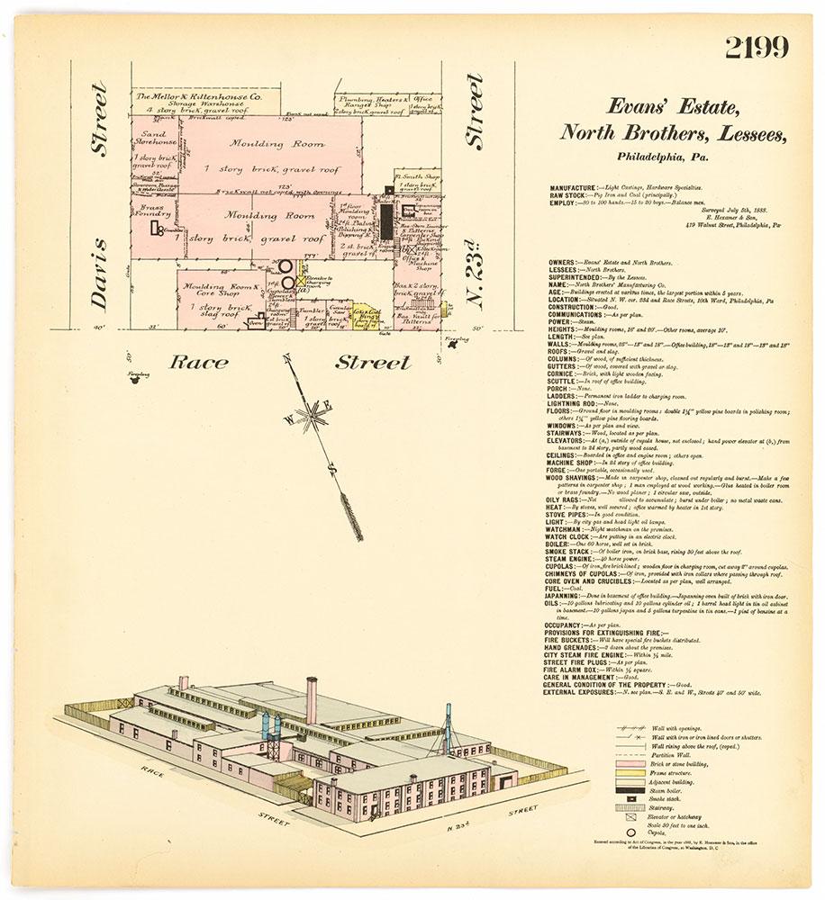 Hexamer General Surveys, Volume 23, Plate 2199