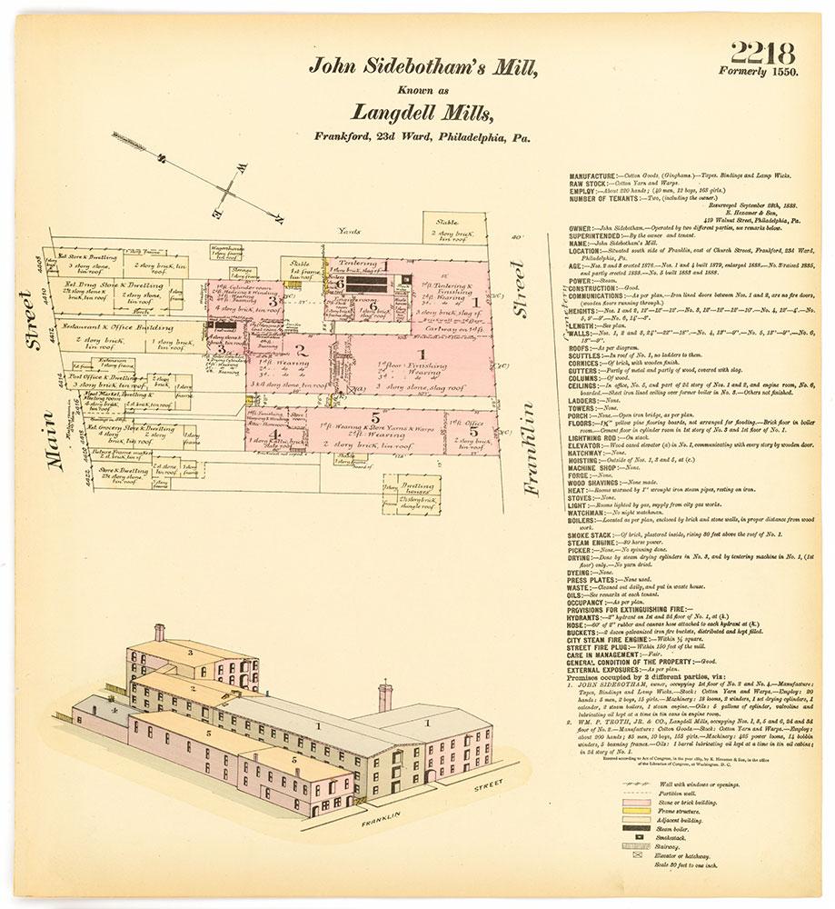 Hexamer General Surveys, Volume 23, Plate 2218