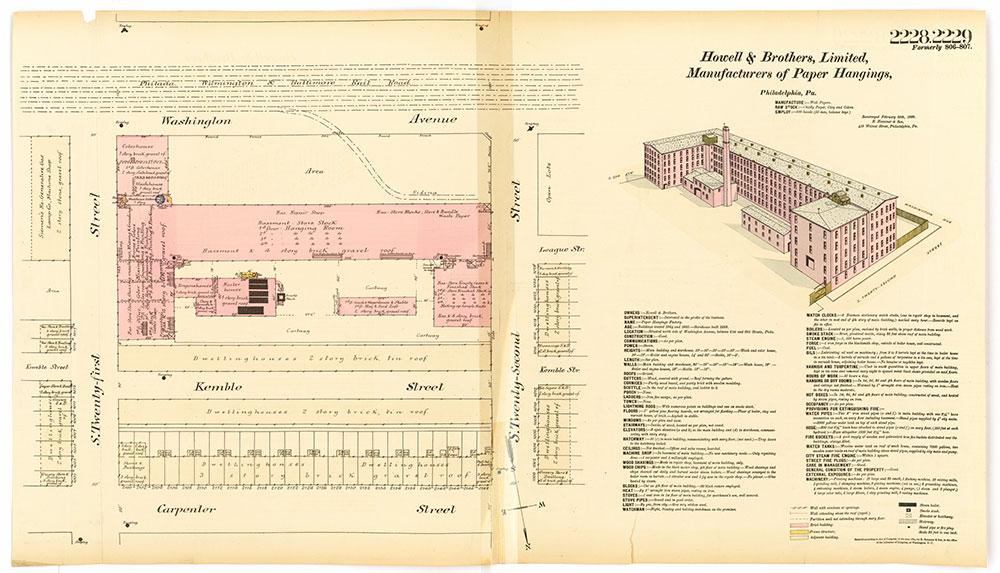 Hexamer General Surveys, Volume 23, Plates 2228-2229