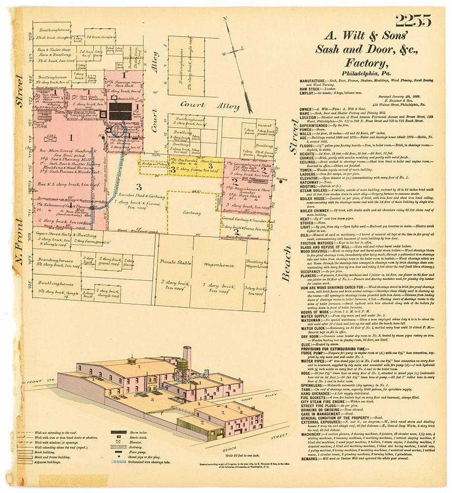 Hexamer General Surveys, Volume 23, Plate 2255