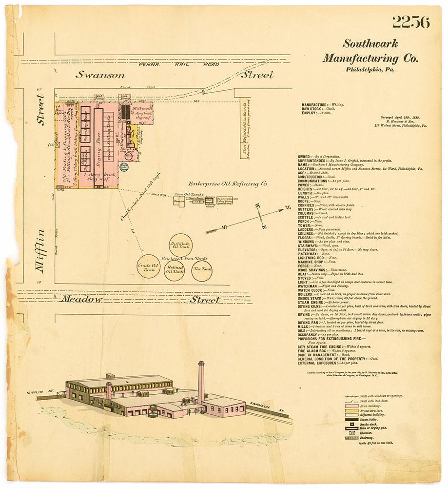 Hexamer General Surveys, Volume 24, Plate 2256