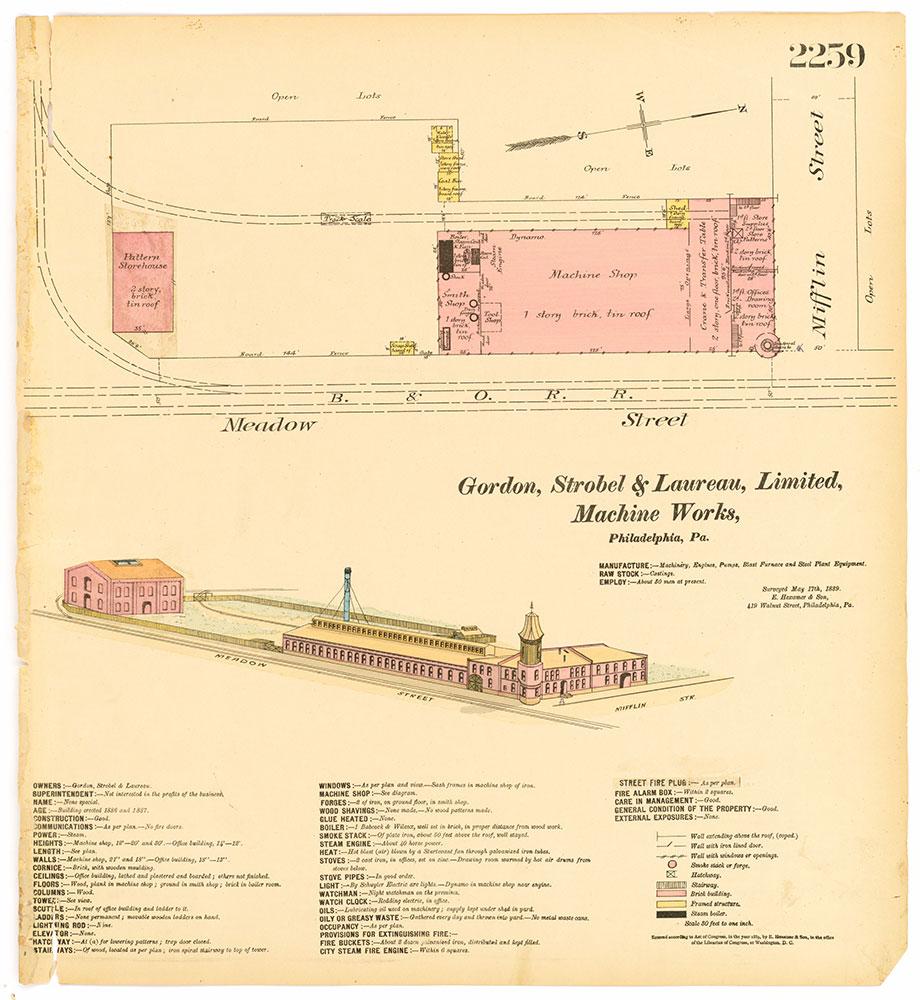 Hexamer General Surveys, Volume 24, Plate 2259