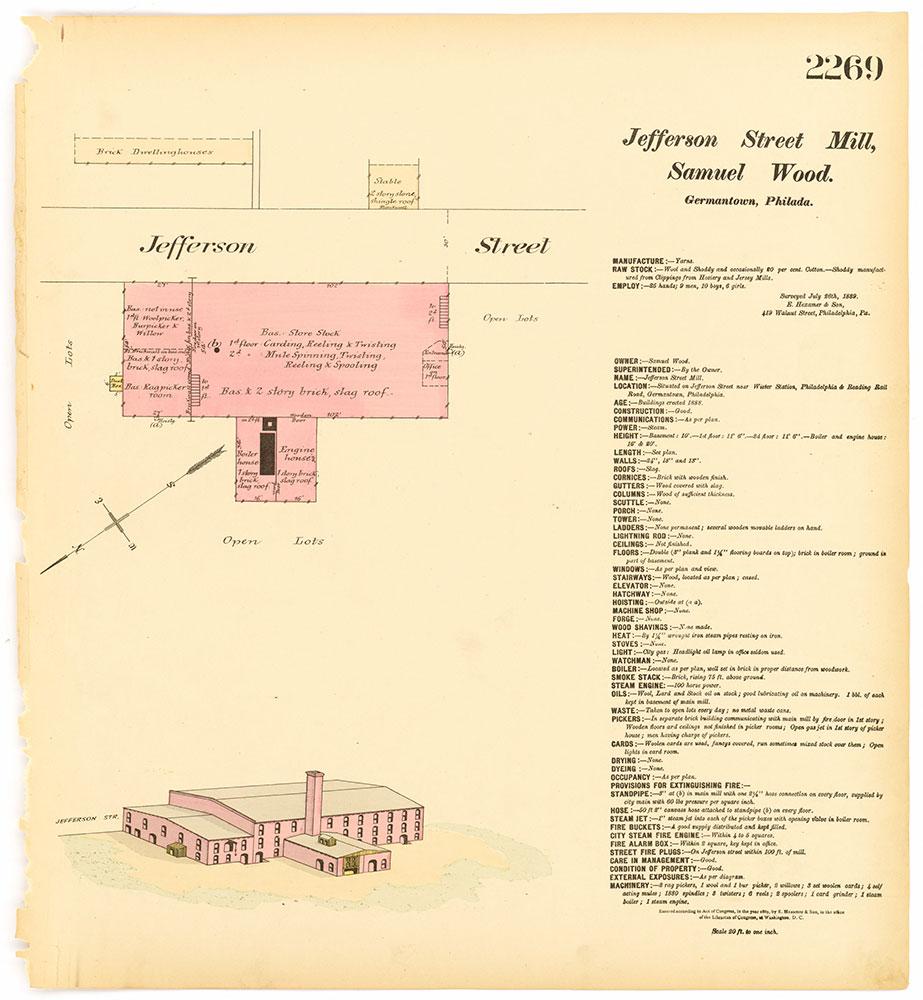 Hexamer General Surveys, Volume 24, Plate 2269