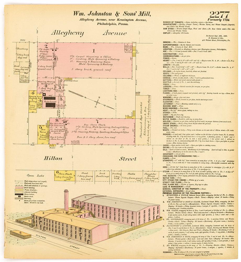 Hexamer General Surveys, Volume 24, Plate 2277