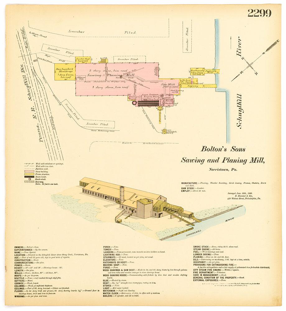 Hexamer General Surveys, Volume 24, Plate 2299