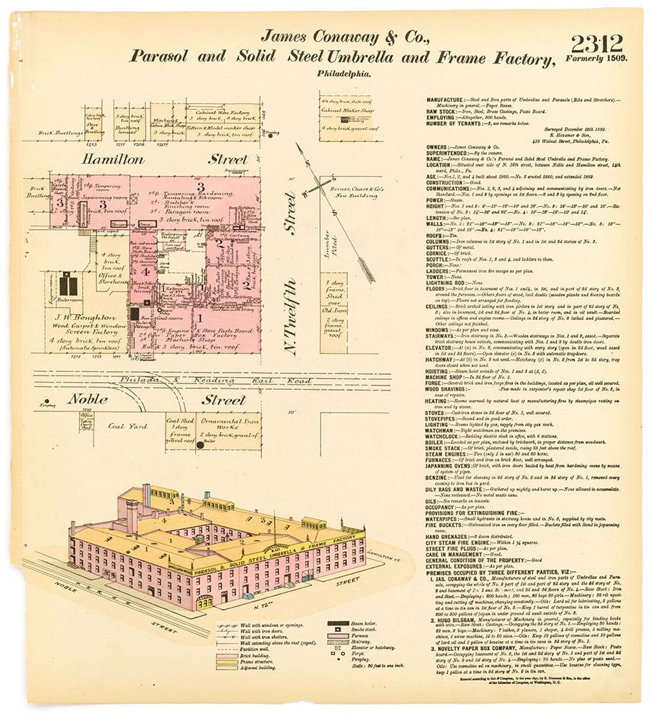 Hexamer General Surveys, Volume 24, Plate 2312