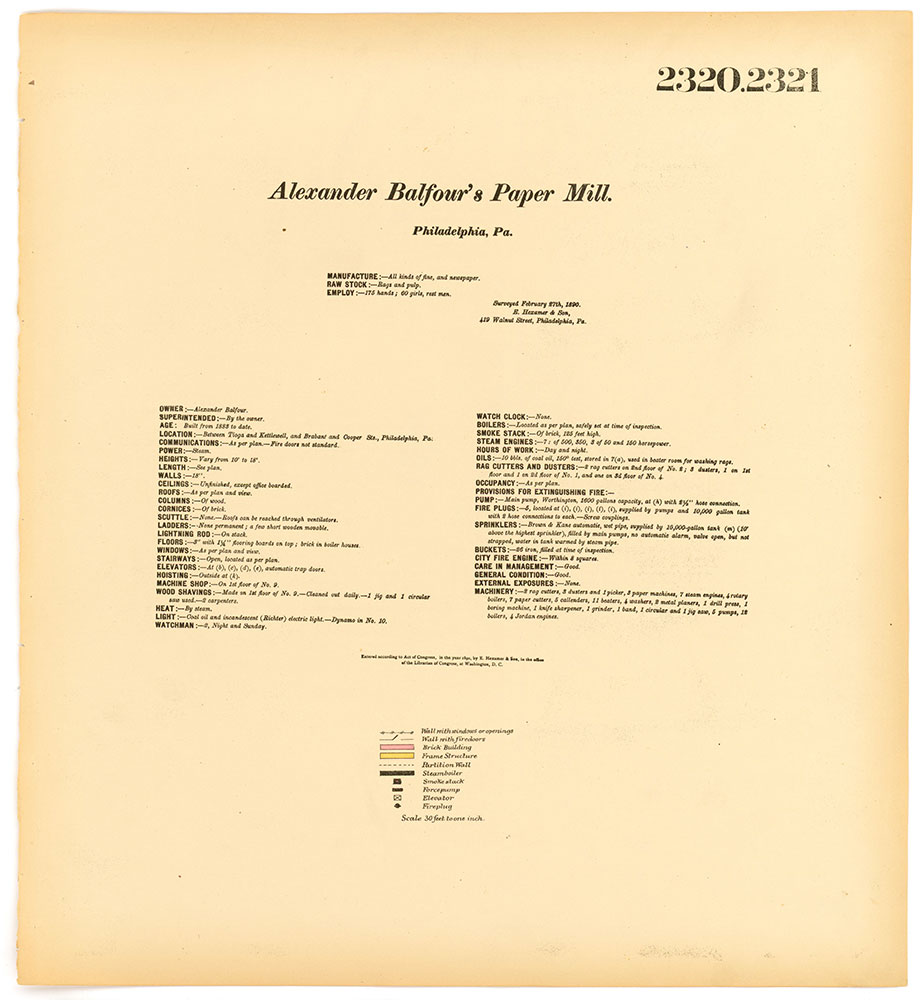 Hexamer General Surveys, Volume 24, Plates 2320-2321