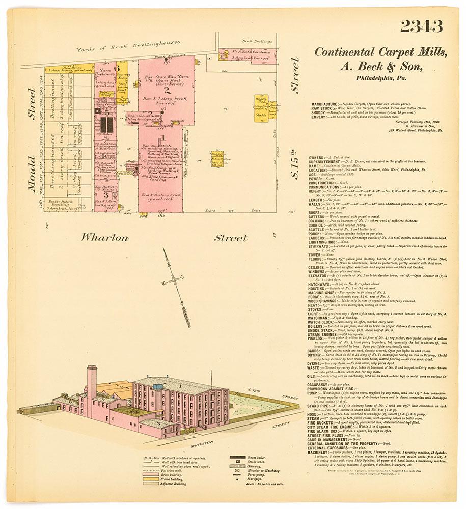 Hexamer General Surveys, Volume 24, Plate 2343