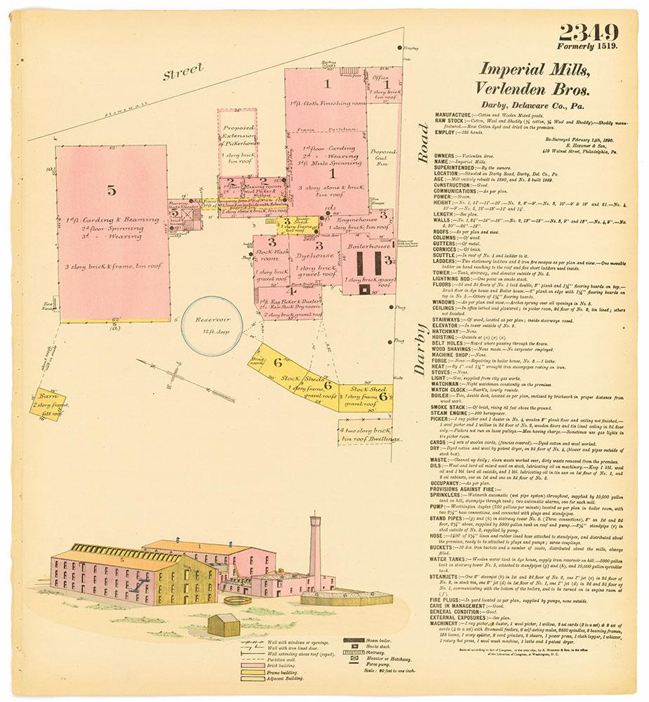 Hexamer General Surveys, Volume 24, Plate 2349