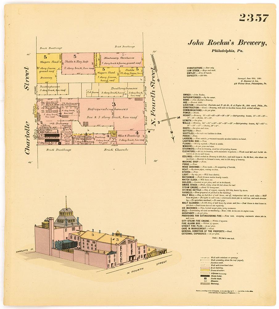 Hexamer General Surveys, Volume 25, Plate 2357