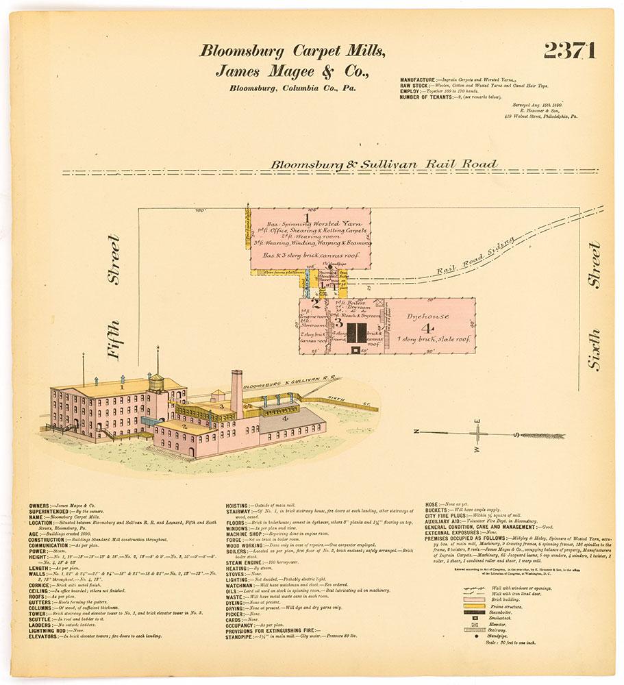 Hexamer General Surveys, Volume 25, Plate 2371