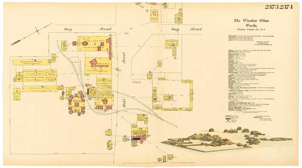 Hexamer General Surveys, Volume 25, Plates 2373-2374