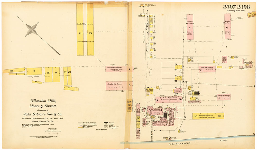 Hexamer General Surveys, Volume 25, Plates 2397-2398