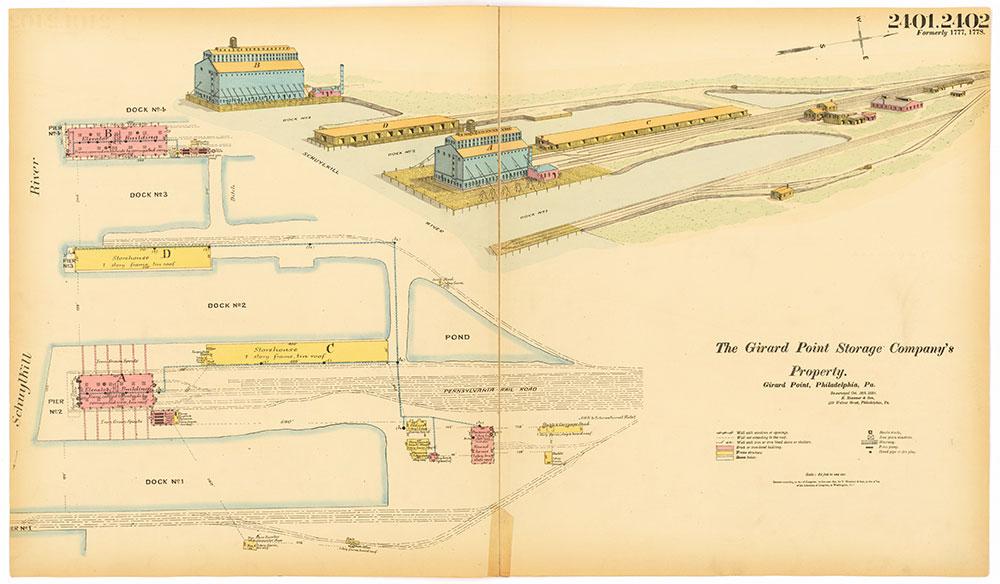 Hexamer General Surveys, Volume 25, Plates 2401-2402