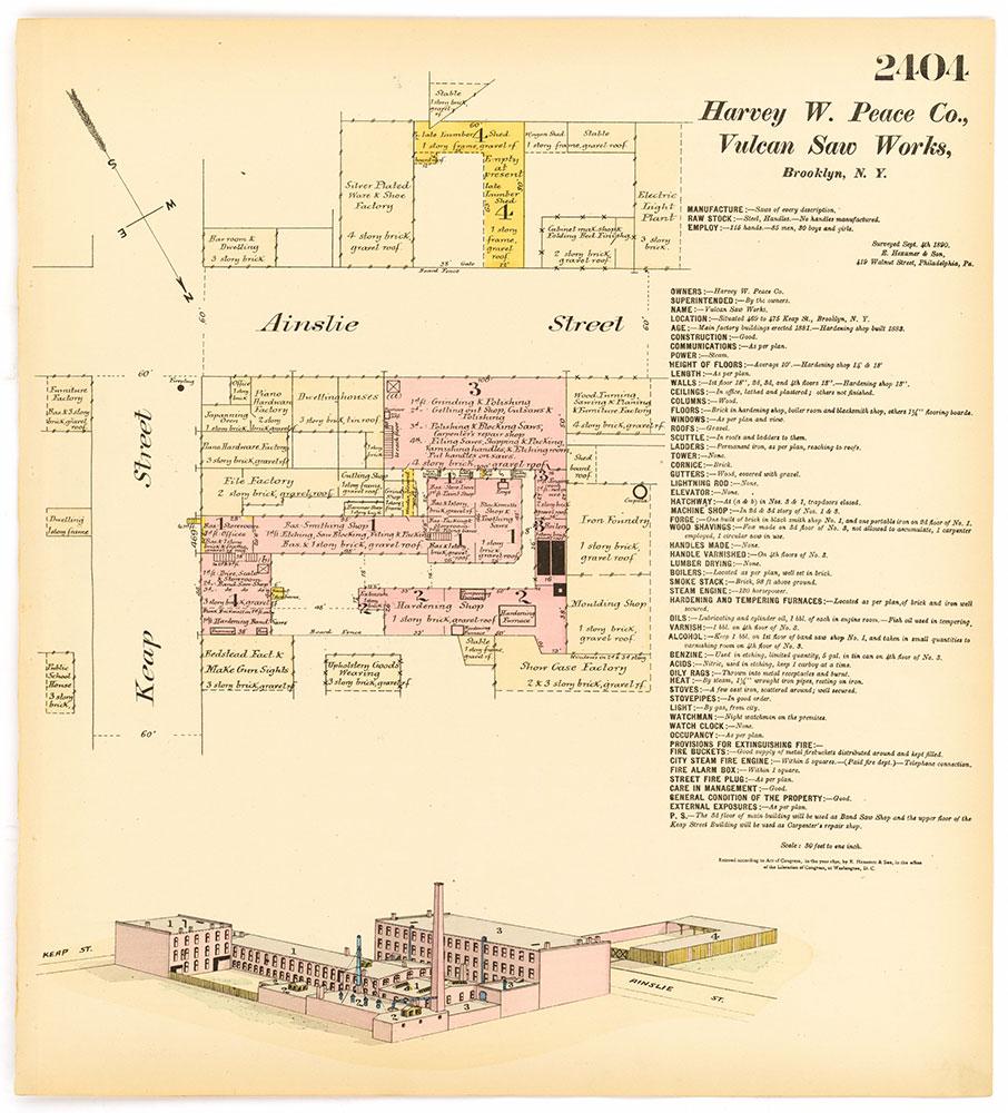 Hexamer General Surveys, Volume 25, Plate 2404