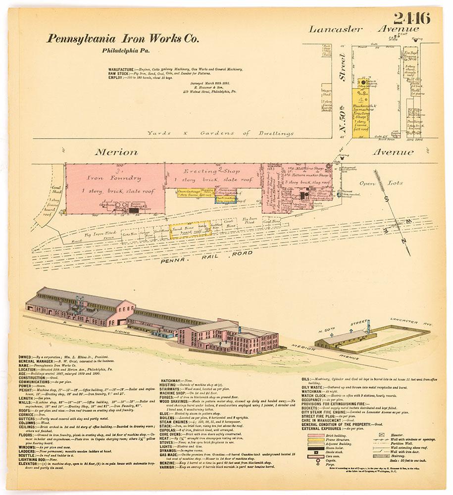 Hexamer General Surveys, Volume 25, Plate 2416