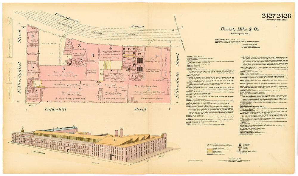 Hexamer General Surveys, Volume 25, Plates 2427-2428
