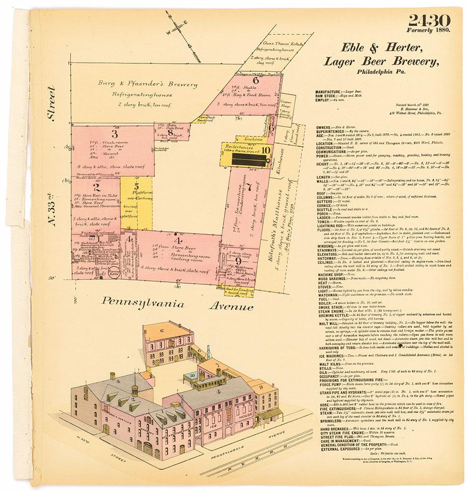 Hexamer General Surveys, Volume 25, Plate 2430