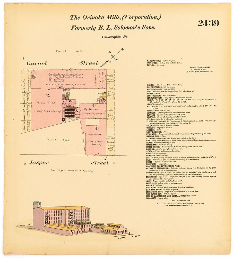 Hexamer General Surveys, Volume 25, Plate 2439