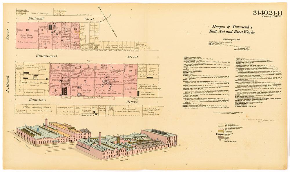 Hexamer General Surveys, Volume 25, Plates 2440-2441