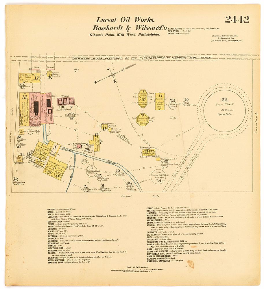 Hexamer General Surveys, Volume 25, Plate 2442
