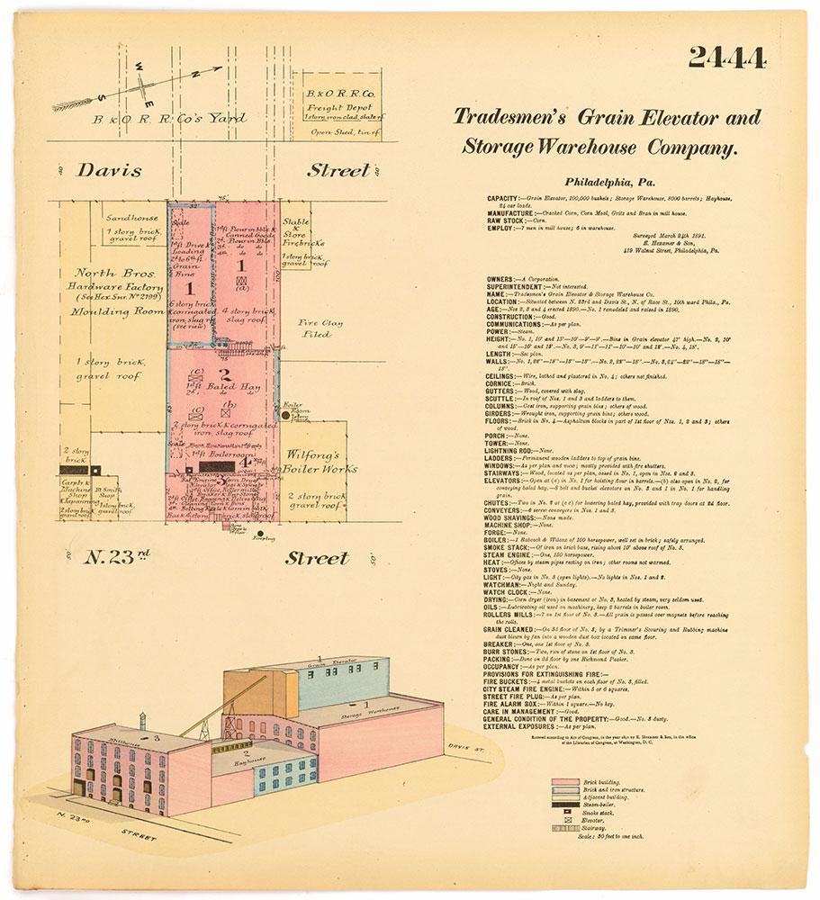 Hexamer General Surveys, Volume 25, Plate 2444
