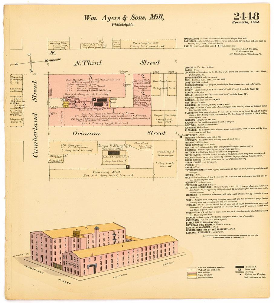 Hexamer General Surveys, Volume 25, Plate 2448