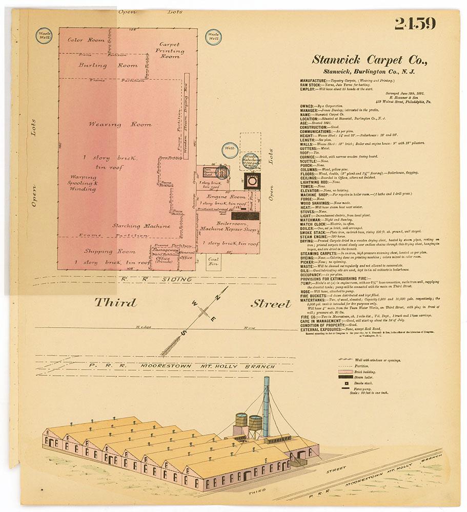Hexamer General Surveys, Volume 26, Plate 2459