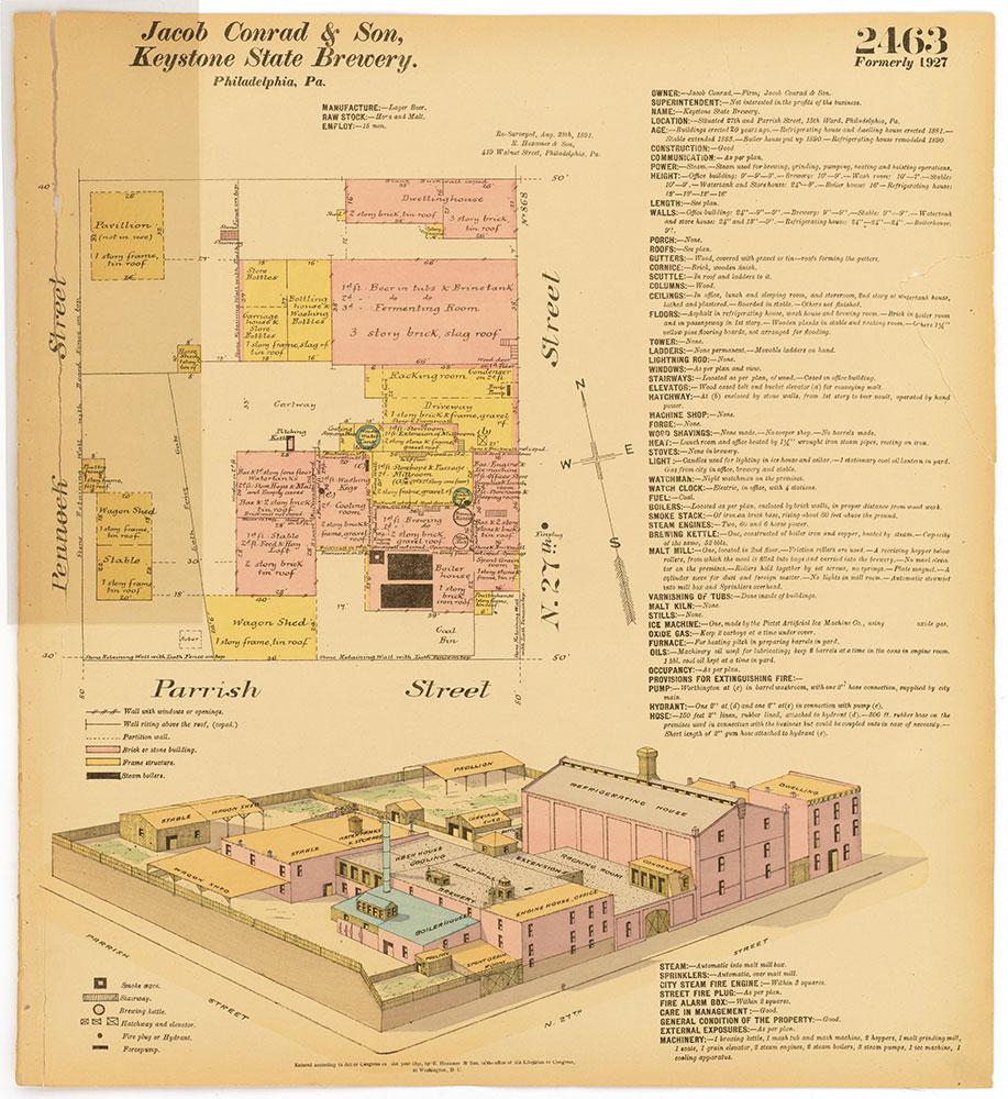 Hexamer General Surveys, Volume 26, Plate 2463