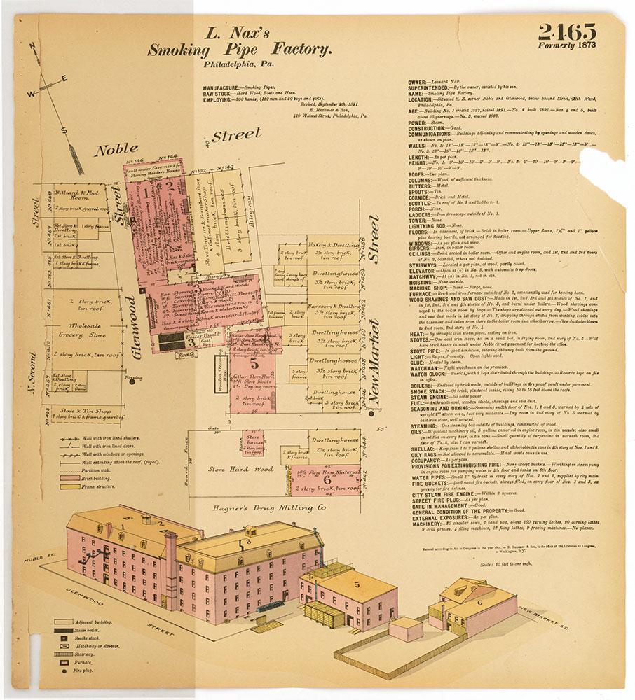 Hexamer General Surveys, Volume 26, Plate 2465