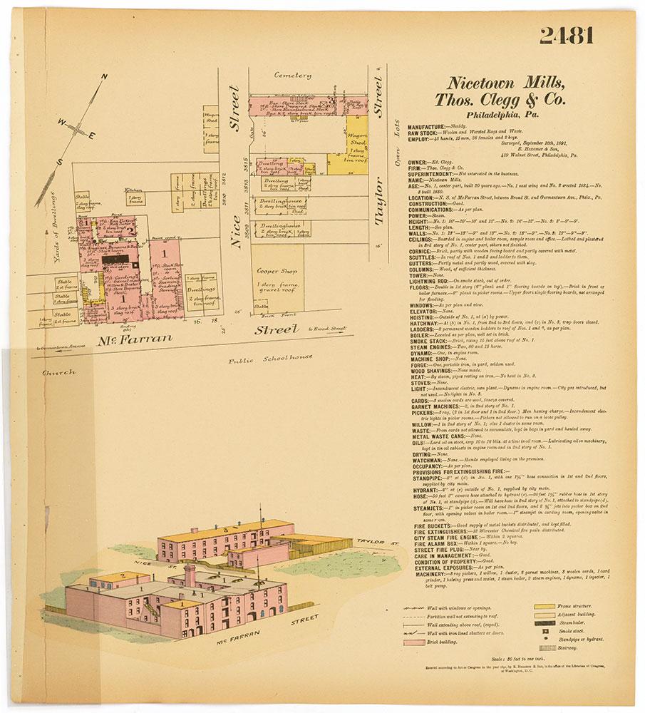 Hexamer General Surveys, Volume 26, Plate 2481