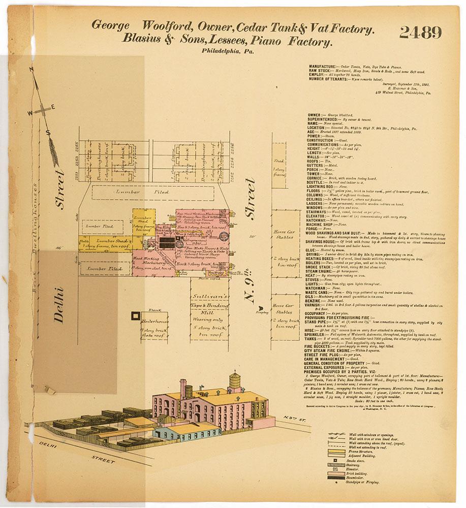Hexamer General Surveys, Volume 26, Plate 2489