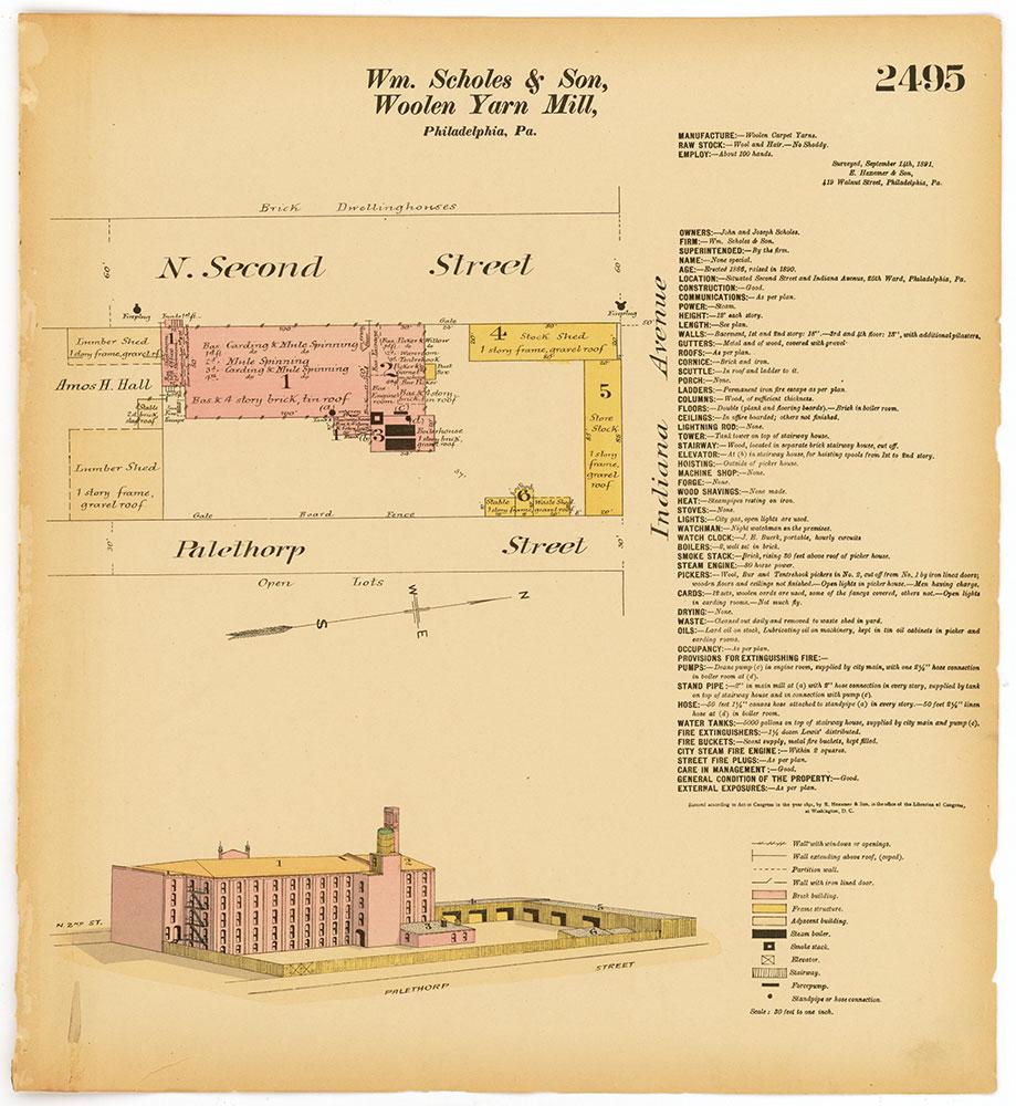 Hexamer General Surveys, Volume 26, Plate 2495
