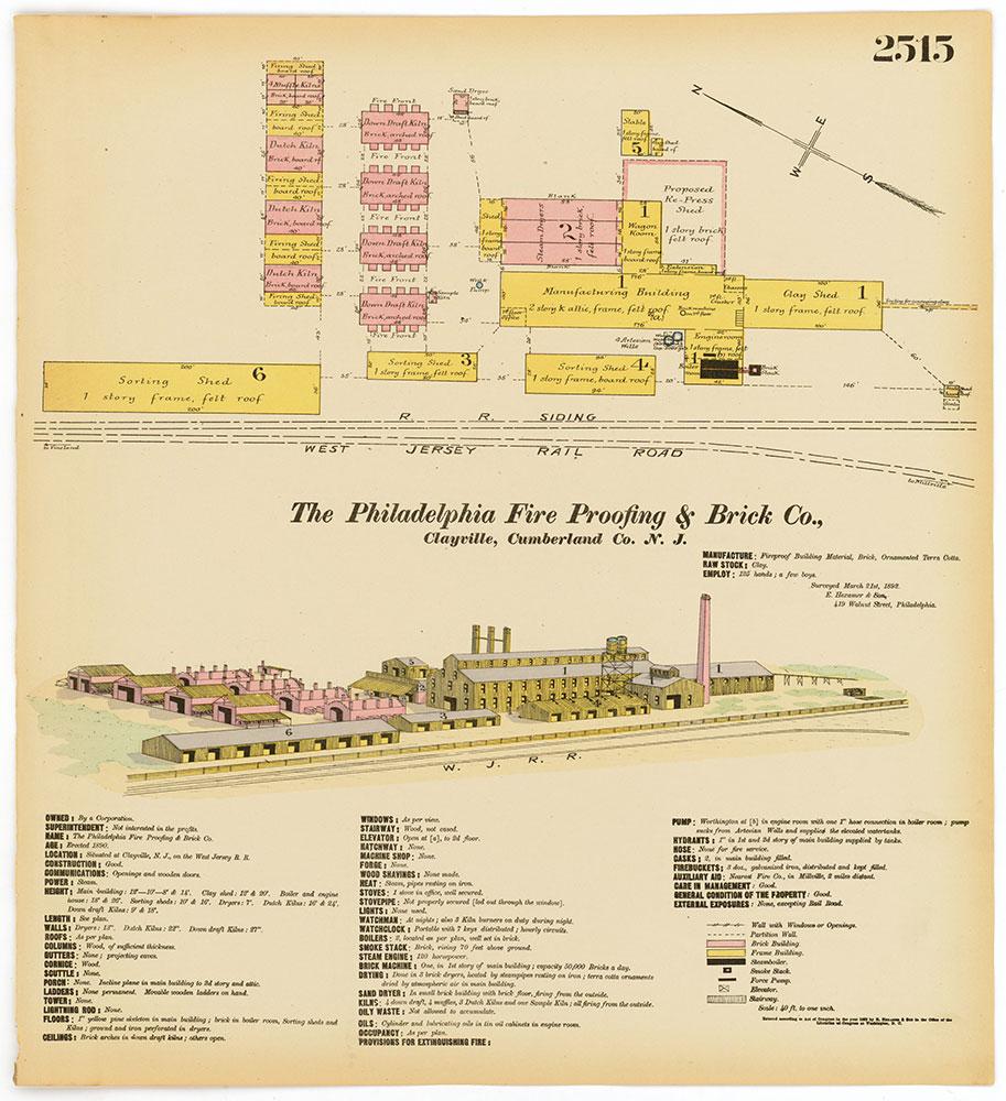 Hexamer General Surveys, Volume 26, Plate 2515